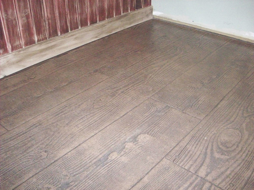 Stamped Concrete Flooring : Concrete floors in decorative